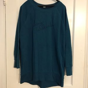 Old Navy Embroidered Tunic Sweatshirt